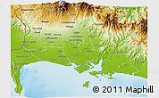Physical 3D Map of David