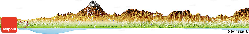 Physical Horizon Map of David