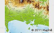 Physical Map of David