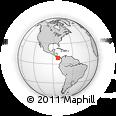 Outline Map of Dolega