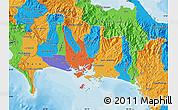 Political Map of Chiriqui