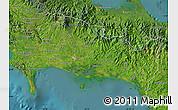 Satellite Map of Chiriqui