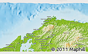 Physical 3D Map of Portobelo