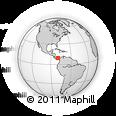 Outline Map of Portobelo