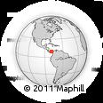 Outline Map of Santa Isabel