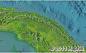 Satellite Map of Comarca de San Blas