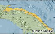 Savanna Style Map of Comarca de San Blas