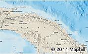 Shaded Relief Map of Comarca de San Blas