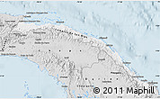 Silver Style Map of Comarca de San Blas