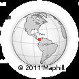 Outline Map of Darien
