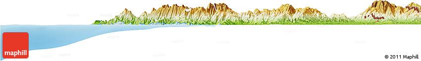 Physical Horizon Map of Sambu