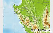 Physical Map of Sambu