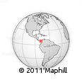 Outline Map of Sambu