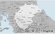 Gray 3D Map of Herrera
