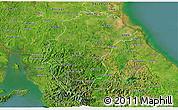 Satellite 3D Map of Herrera