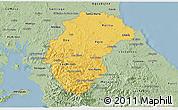 Savanna Style 3D Map of Herrera