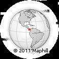 Outline Map of Herrera