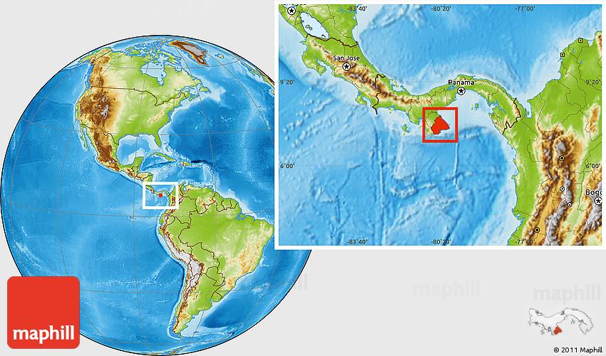 physical location map of los santos