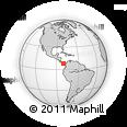 Outline Map of Los Santos
