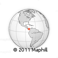 Outline Map of Capira