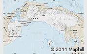 Classic Style Map of Panama