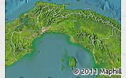 Satellite Map of Panama