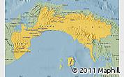 Savanna Style Map of Panama