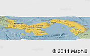 Savanna Style Panoramic Map of Panama