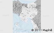 Gray 3D Map of Veraguas