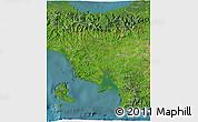 Satellite 3D Map of Veraguas