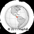 Outline Map of La Mesa