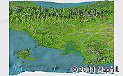 Satellite Panoramic Map of Veraguas