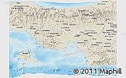 Shaded Relief Panoramic Map of Veraguas