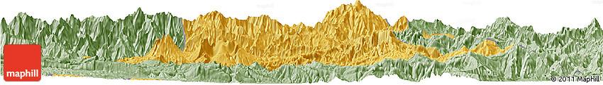 Savanna Style Horizon Map of Chimbu