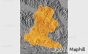 Political Map of Chimbu, desaturated