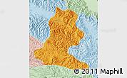 Political Map of Chimbu, lighten