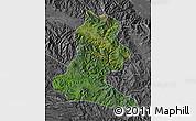 Satellite Map of Chimbu, desaturated