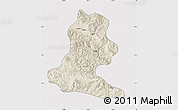 Shaded Relief Map of Chimbu, cropped outside