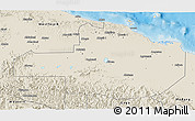 Shaded Relief 3D Map of East Sepik