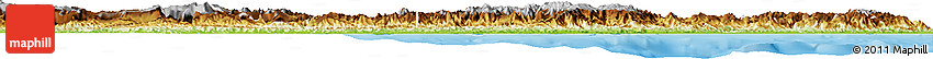 Physical Horizon Map of East Sepik