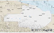 Classic Style Map of East Sepik