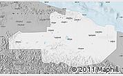 Gray Map of East Sepik