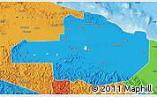 Political Map of East Sepik