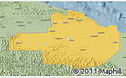 Savanna Style Map of East Sepik