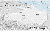 Silver Style Map of East Sepik
