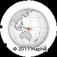 Outline Map of East Sepik