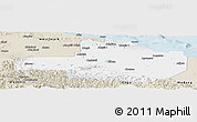 Classic Style Panoramic Map of East Sepik