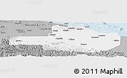 Gray Panoramic Map of East Sepik