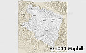 Classic Style 3D Map of Eastern Highlands