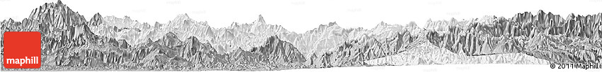 Gray Horizon Map of Eastern Highlands